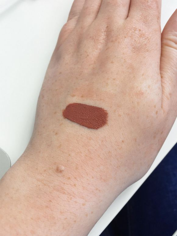 kylie ginger swatch